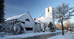 Maria Königin im Schnee