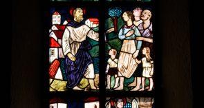 Kirchenfenster St. Peter und Paul