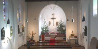 St. Peter u. Paul Chor an Weihnachten