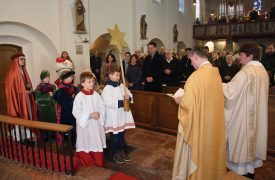 Sternsinger in St.Peter und Paul 180106