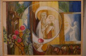 Verabschiedung P.Lötscher Geschenk für Pater Lötscher