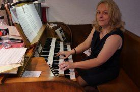 Verabschiedung P.Lötscher Anne Horsch Organistin