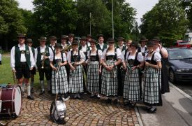 Verabschiedung P.Lötscher Blasorchester Grünwald